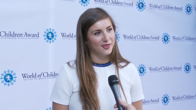 INTERVIEW Jessica Markowitz on event at World of Children Awards 2015 Alumni Honors Il Cielo in Los Angeles CA