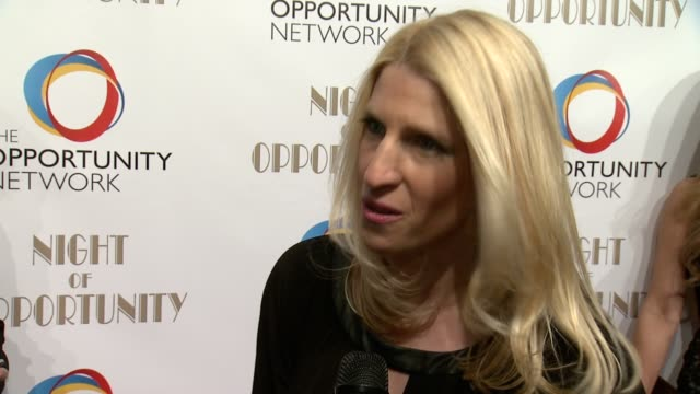 interview jessica pliska executive director of the opportunity network talks about this years honorees and how they were chosen explains the work the... - executive director stock videos & royalty-free footage