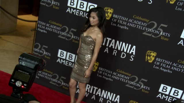 jessica sanchez at 2012 bafta los angeles britannia awards presented by bbc america on 11/7/12 in los angeles ca - jessica sanchez stock videos and b-roll footage