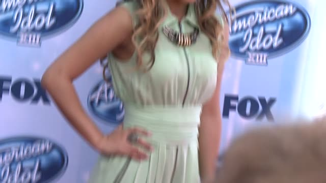 jessica sanchez at american idol xiii 2014 finale at nokia theatre la live on may 21 2014 in los angeles california - jessica sanchez stock videos and b-roll footage