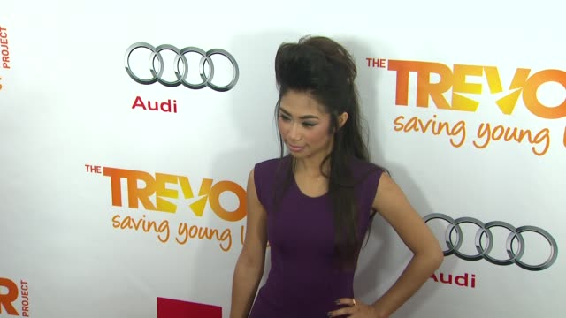 jessica sanchez at the trevor project's 2012 'trevor live' honoring katy perry on 12/2/12 in los angeles ca - jessica sanchez stock videos and b-roll footage