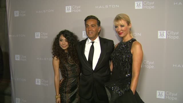 jessica sanchez ben malka anita malka at city of hope honors halston ceo ben malka with spirit of life award on in los angeles ca - halston stock videos & royalty-free footage
