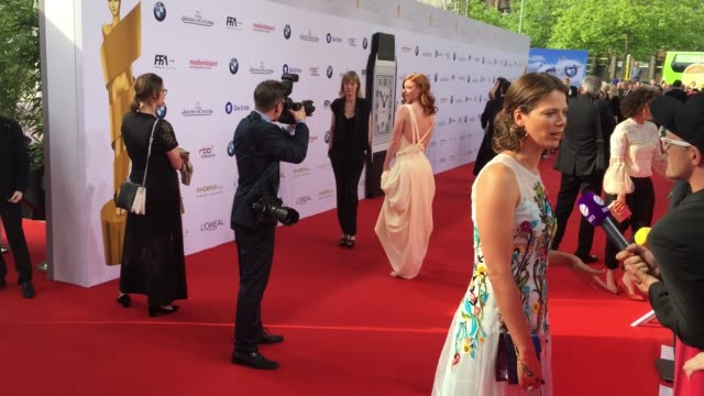 Jessica Schwarz at the Lola German Film Award at Messe Berlin on May 27 2016 in Berlin Germany