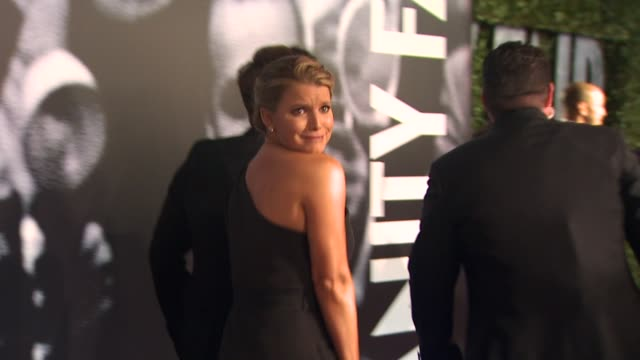 jessica simpson at the 2010 vanity fair oscar party hosted by graydon carter at west hollywood ca. - jessica simpson stock videos & royalty-free footage