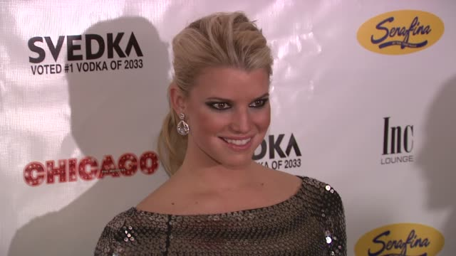 jessica simpson at the ashlee simpson-wentz makes her broadway debut in 'chicago' at new york ny. - jessica simpson stock videos & royalty-free footage