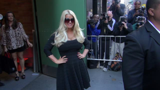 jessica simpson at the 'good morning america' studio in new york, ny, on 09/11/12 - jessica simpson stock videos & royalty-free footage