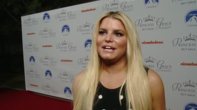b10c653ce9 INTERVIEW Jessica Simpson on what brings her out how she surprised her  daughter with Princess Charlene