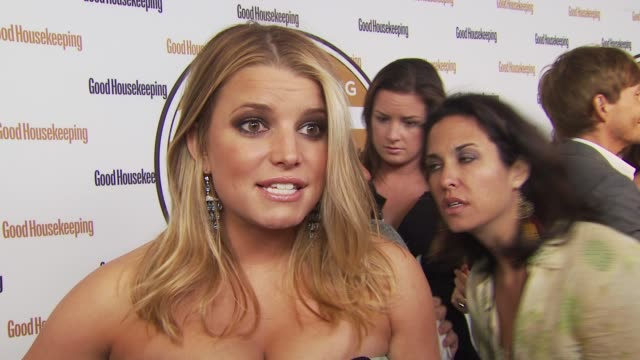 jessica simpson says she's in a new, good place and why. at the good housekeeping's 'shine on' 125 years of women making their mark at new york ny. - jessica simpson stock videos & royalty-free footage