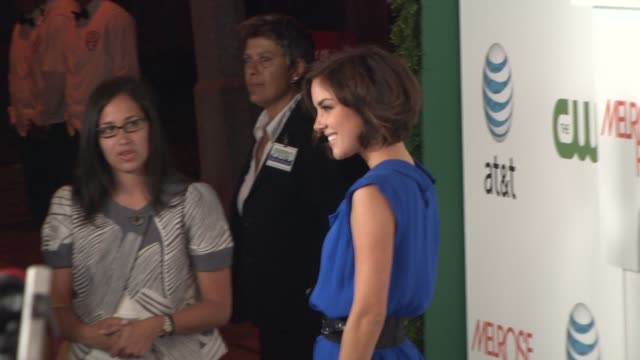 jessica stroup at the 'melrose place' premiere party at west hollywood ca. - 肥皂劇 個影片檔及 b 捲影像
