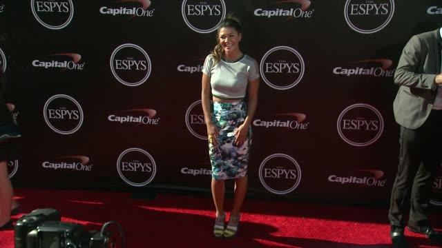 jessica szohr at the 2014 espy awards in los angeles ca - espy awards stock videos & royalty-free footage