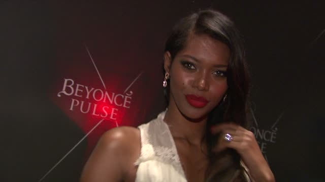 Jessica White at the Beyonce Pulse Fragrance Launch at PHD at New York NY
