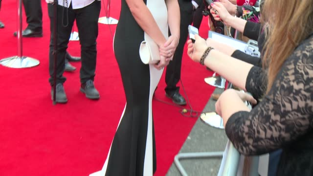 jessica wright at house of fraser british academy television awards - british academy television awards stock videos & royalty-free footage
