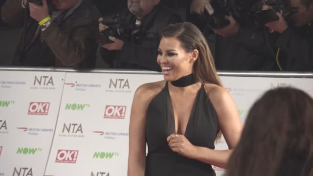 Jessica Wright at National Television Awards 2016 on January 19 2016 in London England