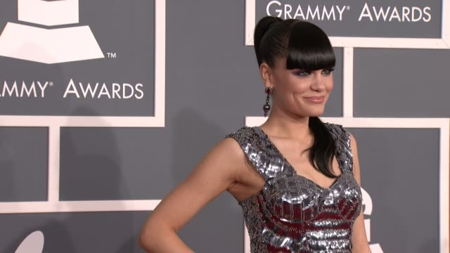 Jessie J at 54th Annual GRAMMY Awards Arrivals on 2/12/12 in Los Angeles CA