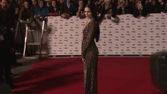 jessie j at mobo awards 2014 at wembley arena on october 22, 2014 in london, england. - wembley arena stock videos & royalty-free footage