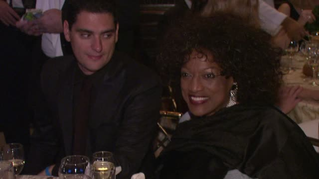 jessye norman at cinema for peace new york 2012 gala honoring sting, trudie styler & the rainforest fund with 'green oscar' at the harvard club on... - trudie styler stock-videos und b-roll-filmmaterial