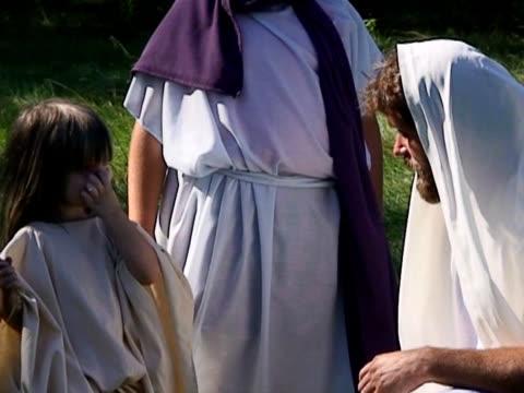 Jesus and little children 1