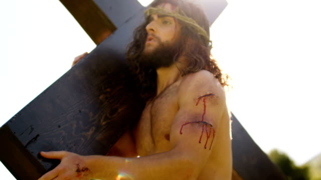 jesus christ - religious cross stock videos and b-roll footage