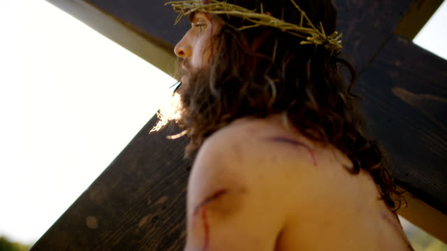 vidéos et rushes de jésus-christ - carrying