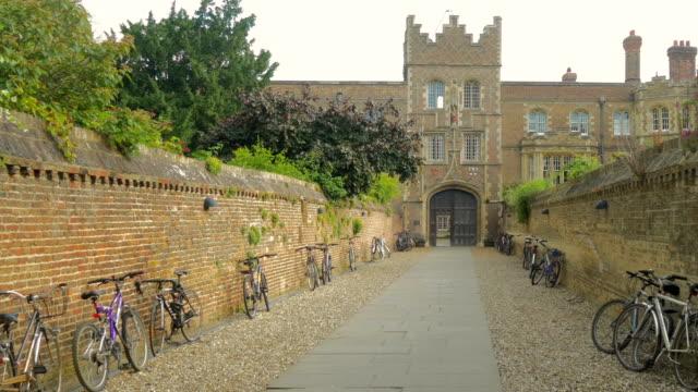 jesus college,cambridge,pan - cambridge university stock videos & royalty-free footage