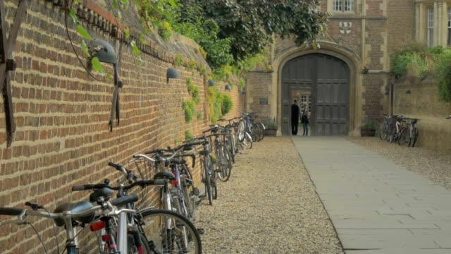 jesus college,cambridge,zo, - イングランド ケンブリッジ点の映像素材/bロール