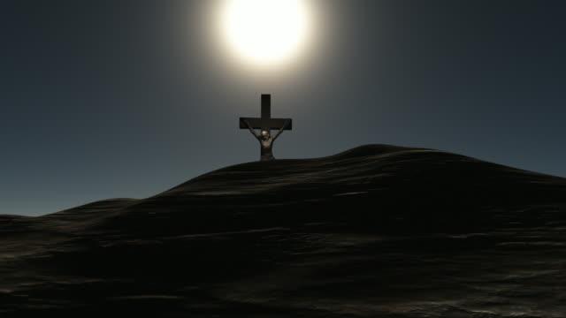 jesus cross - religious cross stock videos and b-roll footage