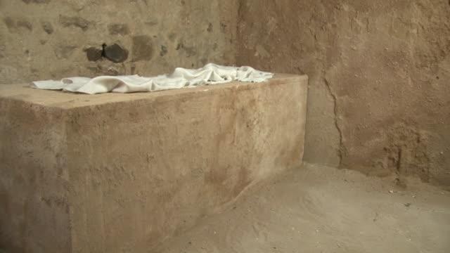 jesus'空の墓で、イースターサンデー、ストーリーレザレクション - 記念碑点の映像素材/bロール