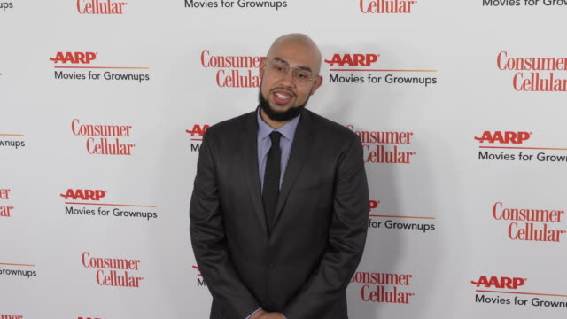 jesus trejo at the 18th annual movies for grownups awards at the beverly wilshire four seasons hotel on february 04, 2019 in beverly hills,... - フォーシーズンズホテル点の映像素材/bロール