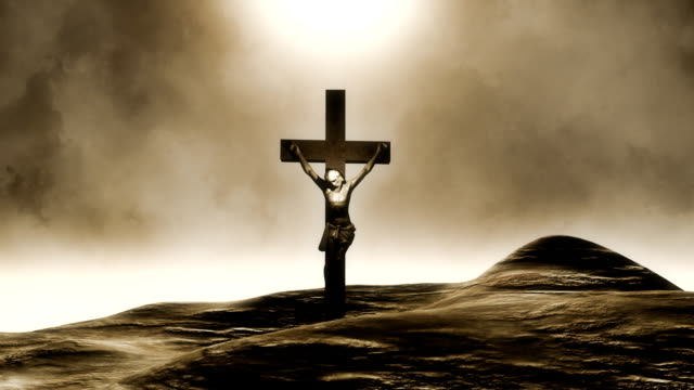 jesus - religious cross stock videos and b-roll footage