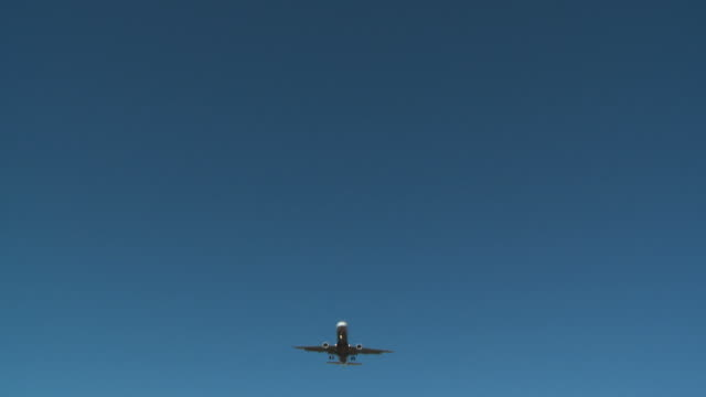 Jet airline plane taking off