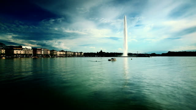 Fontäne im Genfer See, landmark