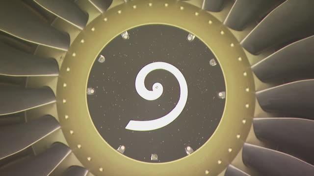 cfm56 jet engine, australia - turbine stock videos & royalty-free footage