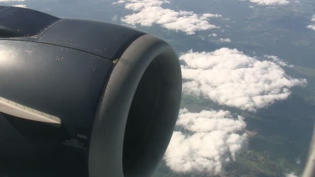 Jet engine in flight 2 - HD/SD 60i
