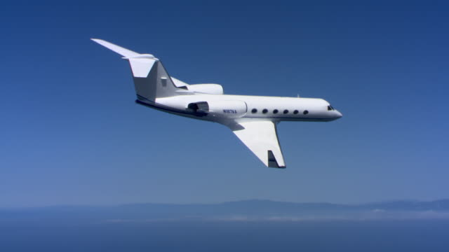 jet losing altitude - private airplane stock videos & royalty-free footage