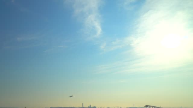 Jet plane depart from airport