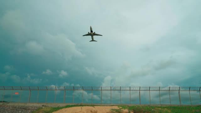 Jet vliegtuig opstijgen