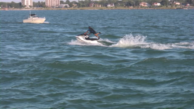 jet ski , jetski, jetsky, jet-ski - jet ski stock videos & royalty-free footage