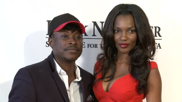jeta amata and agbani darego at black november screening in washington dc at the john f kennedy center for performing arts on may 08 2012 in... - john f. kennedy center for the performing arts stock videos and b-roll footage