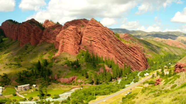jeti-oguz gorge - caracol stock videos and b-roll footage
