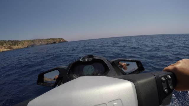 Jetski driver POV