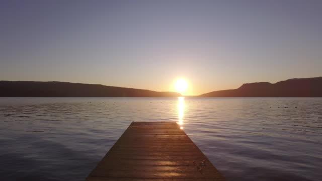 Jetty and lake