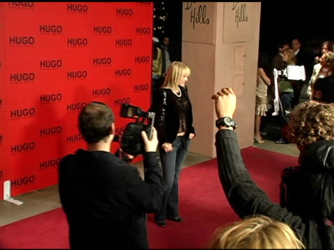 jewel at the bash and celebration of hugo boss' fall winter 2005 collections at the beverly hilton in beverly hills, california on march 15, 2005. - hugo boss stock-videos und b-roll-filmmaterial