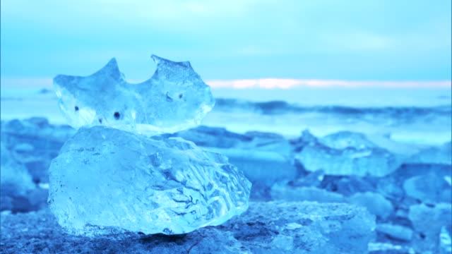 jewel ice, hokkaido - ice crystal stock videos and b-roll footage
