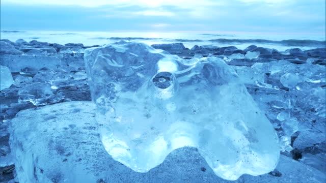 vidéos et rushes de jewel ice, hokkaido - cristaux