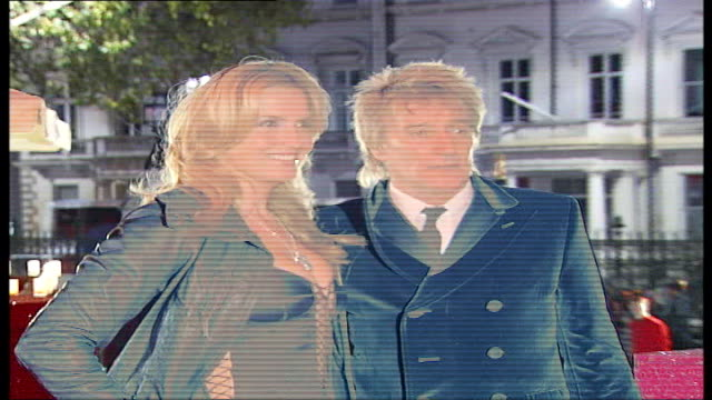 jewellers cartier throw party for wealthy customers england london natural history museum photography *** rod stewart and his wife penny lancaster... - princess michael of kent stock videos and b-roll footage