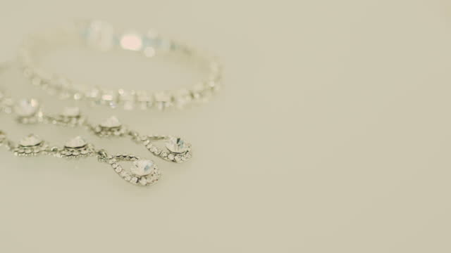 Jewellery, lace, silver