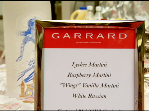jewelry and snow queen vodka at the garrard jewelers celebrates the opening of their flagship location at garrard flagship store in beverly hills,... - store opening stock videos & royalty-free footage