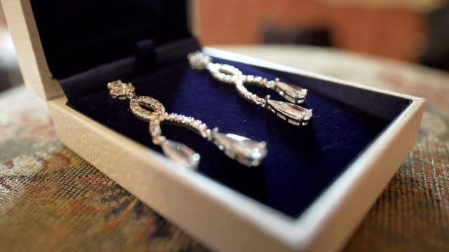 Jewelry in a gift box