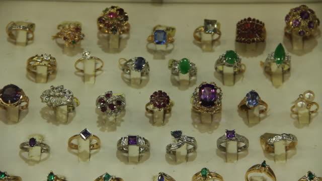 Jewelry in store in LA