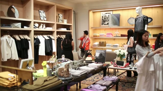 Jewelry on display at J Crew Group Incs new womens store inside the International Finance Centre mall in Hong Kong China on Thursday May 22 Shoppers...